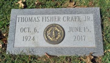 SAR Fisher Craft Grave